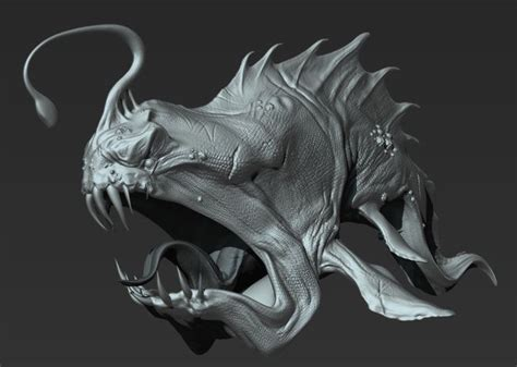 zbrush turntable tutorial 13 best monsters images on pinterest