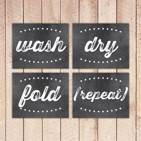 Wall Stickers For Laundry Room laundry room printable art prints chalkboard prints wash