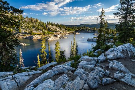 lake mary morning wasatch mountains limited edition utah