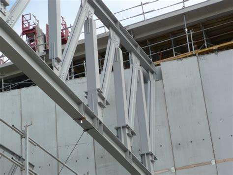 poutre treillis acier h 244 tel lucien barri 232 re de lille construiracier