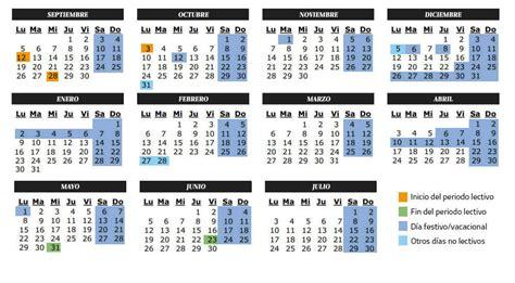 curso devoluciones y compensaciones 2016 vacaciones calendario escolar del curso 2016 2017 en