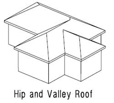 Hip And Valley Roof Design Line Roofing Protractor Roof Designing