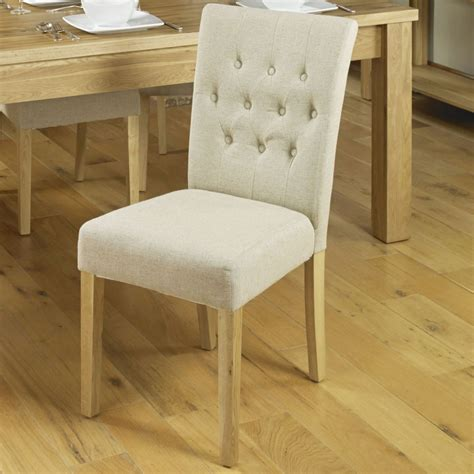 conran solid oak furniture set of six flare back dining