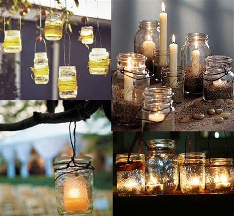 diy mason jar wedding ideas 24 pics