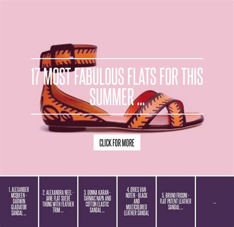17 Most Fabulous Flat Shoes For Summer by 17 Most Fabulous Flats For This Summer Fashion