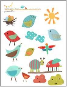 cutout bird printable for kids