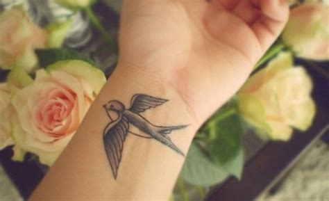 swallow wrist tattoo 43 stunning wrist couples tattoos