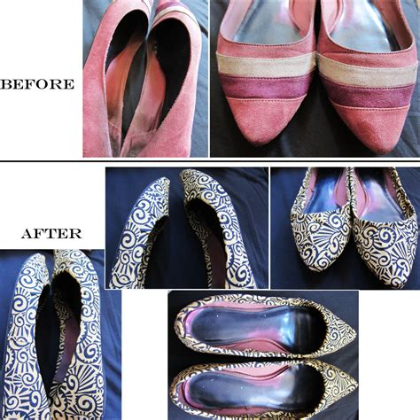 diy fabric shoes curvy geekery fabric covered flats