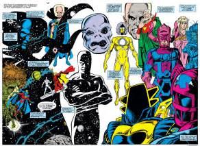 Living Tribunal Vs Infinity Gauntlet Thanos The Infinity Gauntlet Longbox Graveyard