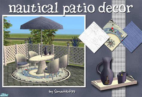 simaddict99 s nautical patio decor