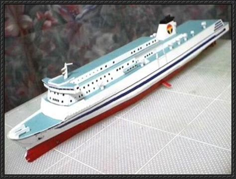 Papercraft Ship - papercraftsquare new paper craft west
