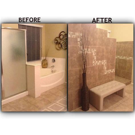 no bathroom bathroom remodel tiled walk in shower with no door