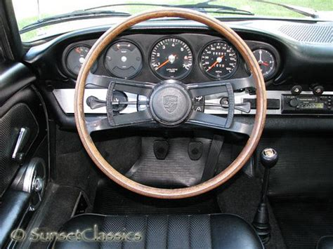 Porsche 912 Interior by 1968 Porsche 912 Interior Interior Look At The Steering