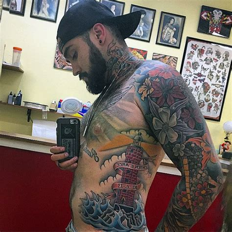 40 traditional lighthouse tattoo designs for men old