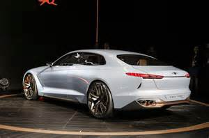 the new genesis car genesis new york concept challenges bmw 3 series autocar