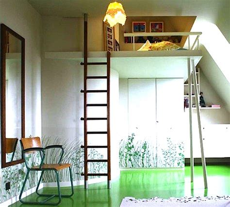 Up Bed by Room Bed On Stilts Kidspace Interiors