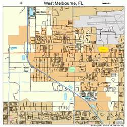 west melbourne florida map 1276500
