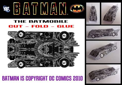 Batmobile Papercraft - 20 best images about car paper by jou on