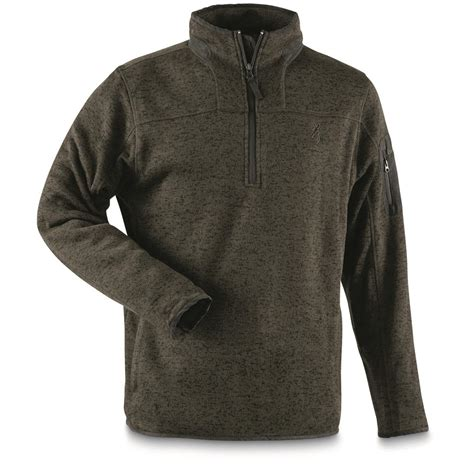 Fleece Pullover browning s laredo 1 4 zip fleece pullover 668664