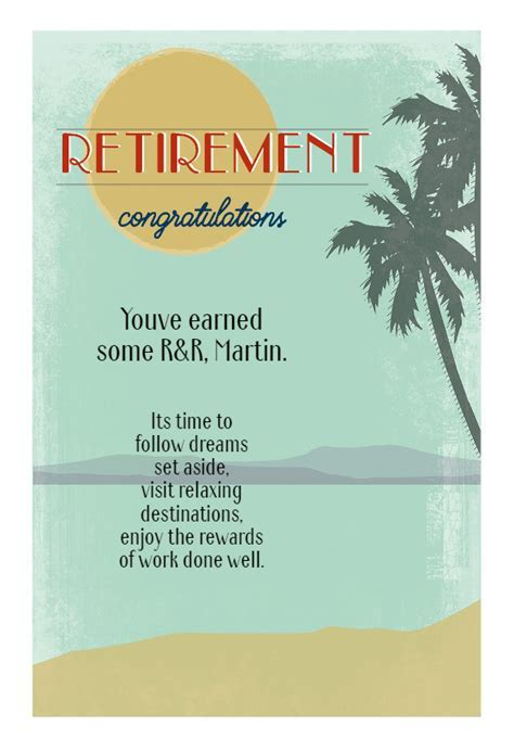 Easy Breezy   Free Retirement Card   Greetings Island