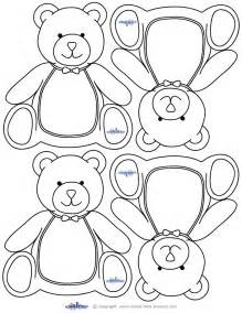 printable teddy template blank printable teddy thank you cards