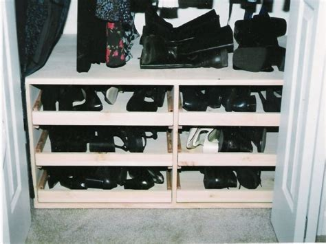 diy shoe closet popular shoe rack for closet design derektime design