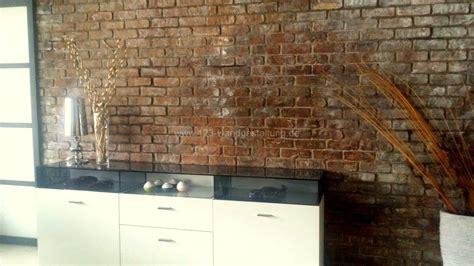 le für wand vorschlaege wandgestaltung wohnzimmer mit stein
