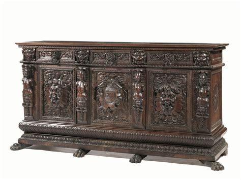 rinascimento mobili grande credenza in stile rinascimentale toscana secolo