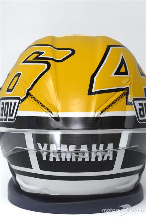 Helm Yamaha helmet of valentino yamaha factory racing at