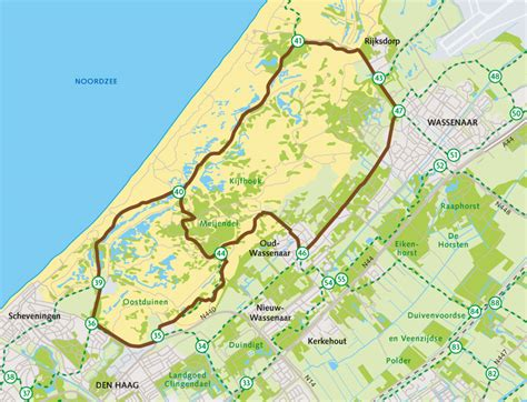 Wandlen Design by Duin Horst En Weide Fietsen Meijendel Route