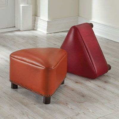 triangle patterned ottomans 143 best images about new house on pinterest