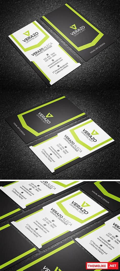 Vertical Business Card Template Photoshop by Creativemarket Vertical Business Card Template 321019