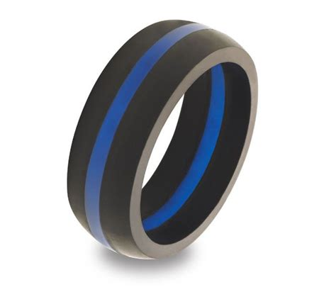 Wedding Rings For Working Out by Fresh Rubber Wedding Rings For Thin Blue Line