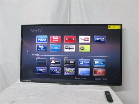 Lu Led Dc Phillips phillips 50 quot 1080p led smart tv june store returns 2