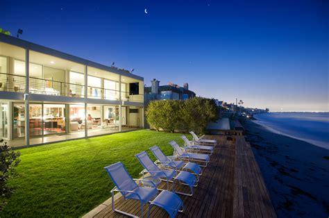 house beach malibu colony beach home