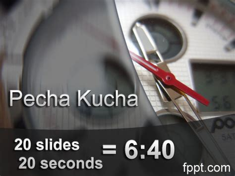 what is pecha kucha presentation technique