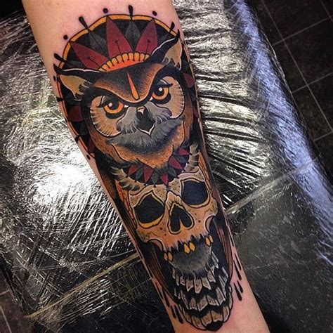 traditional tattoo artists neo traditional owl neo traditional owl tattoos