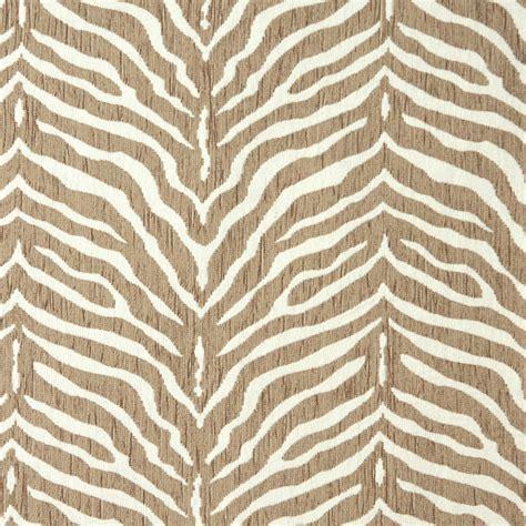 zebra print upholstery fabric uk e190 beige zebra pattern textured woven chenille