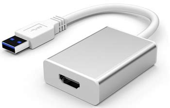 Saintholly Konverter Hdmi To Av St 209 saintholly usb 3 0 to hdmi converter st 217 silver jakartanotebook