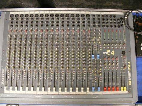 Mixer Spirit Live 4 Bekas soundcraft spirit live 4 image 352508 audiofanzine