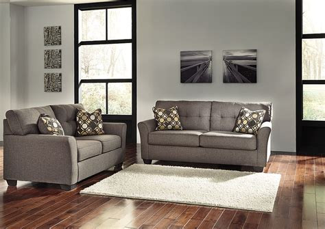 north shore sofa and loveseat north shore furniture tibbee slate sofa and loveseat