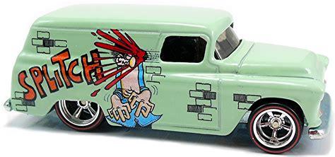 Diecast Wheels 55 Chevy Splatter Paint Series Collector 410 55 chevy panel 83mm 2006 wheels newsletter