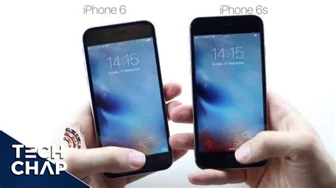 iphone 6s vs iphone 6 touch id speed test