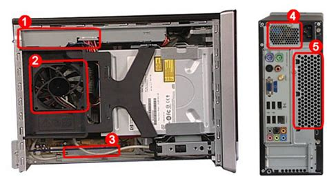 pc de bureau hp pavilion desktop 570 p002nk ordinateurs de bureau hp le ventilateur est bruyant et