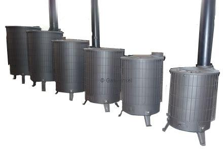 schuur kachel turbo houtkachel types nr 1 3 5 kw