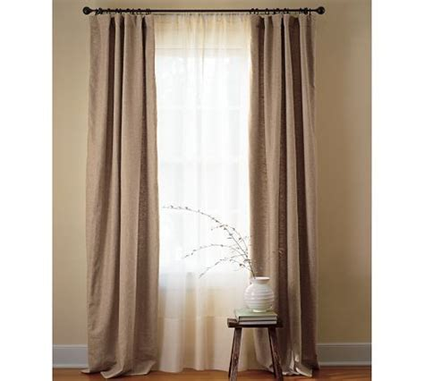 sheer curtains pottery barn 1000 images about drapes with sheers on pinterest sheer
