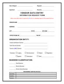 Vendor Request Form Template by Best Photos Of New Vendor Request Form Template Vendor