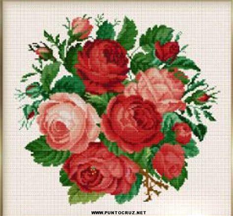 imagenes flores en punto de cruz patrones de flores punto cruz gratis punto de cruz