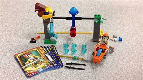 Lego Chima Leonidas lego chima speedorz 5 leonidas chi waterfall review