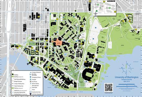 seattle univ map areas uw seattle cus